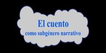 El cuento como subgénero narrativo
