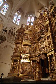 Retablo de la Catedral de Burgos, Castilla y León