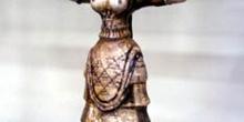 Diosa de las Serpientes (Hacia 1600 a. de C.), Museo de Iraklio