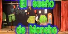 """Obra de teatro """"EL SUEÑO DE MONCHO"""" CEIP Juan Gris de Madrid"""