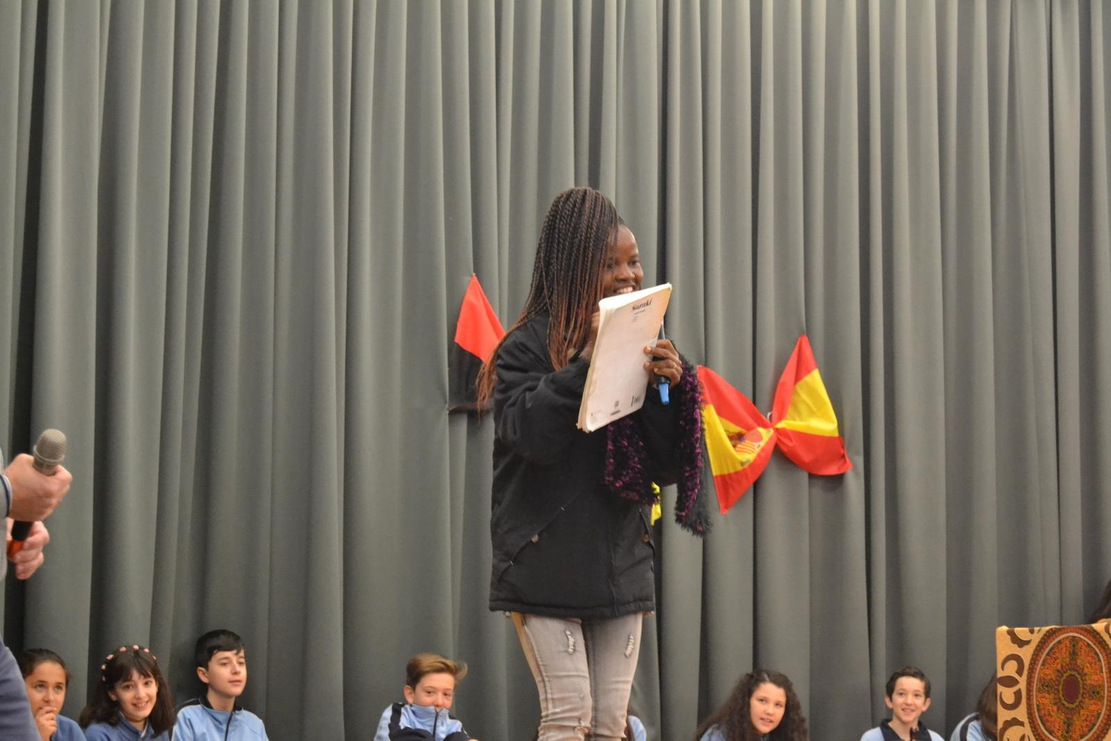 Bienvenida a Susan (profesora de Angola) 35