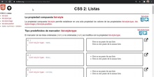 CSS Listas