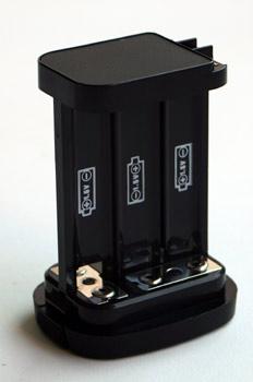 Pack de baterias para flash
