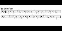 Lightly row - Bombardino