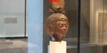 Mi visita al Neues Museum de Berlín salas de escultura egipcia