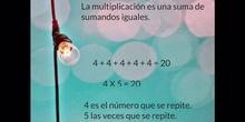 PRIMARIA - 2º - LA MULTIPLICACIÓN - MATEMÁTICAS - FORMACIÓN