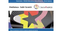 Mediateca: Subir Scratch