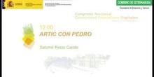 Artic con Pedro Cano.