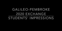 Students' Impressions on the Exchange