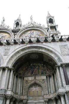 Detalle Basílica de San Marco, Venecia