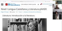 Los orígenes de la literatura. Los géneros literarios