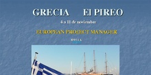 European Project Manager en El Pireo, Grecia