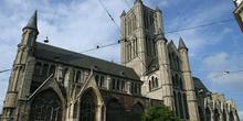 Iglesia de San Nicolás, Gante, Bélgica