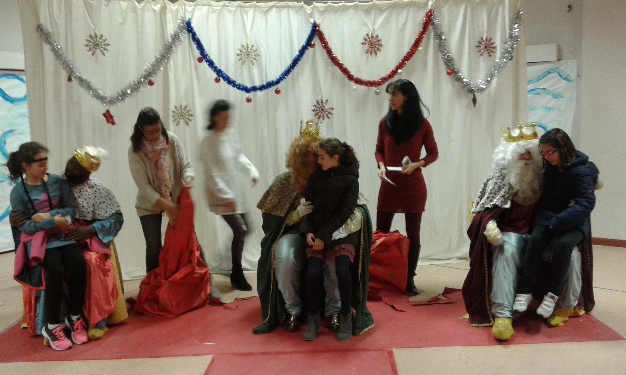 Visita de los reyes magos 2