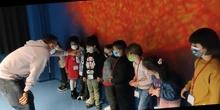Visita al aula de astronomía