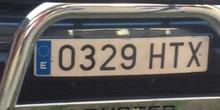 Cazando números en el parking del CP Mirasierra (5)