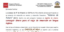 CARTA CHOCOLATADA 2017