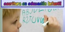 Proceso de apropiación de la escritura en Educación Infantil