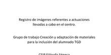 Grupo de trabajo Creación y adaptación de materiales para la inclusión del alumnado TGD  CEIP Filósofo Séneca
