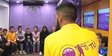 """""""Drogas o tú"""" visita al IES Calderón de la Barca. Emitido por el informativo regional de TVE"""