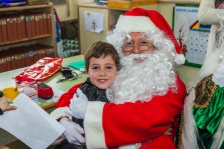 Los RRMM y Papá Noel en INF 5A 15