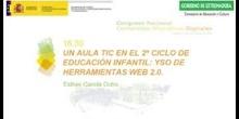 Un aula TIC en el 2º Ciclo de Educación Infantil: uso de herramientas web 2.0.