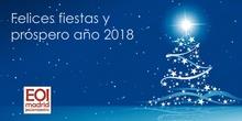 Felices fiestas y próspero año 2018