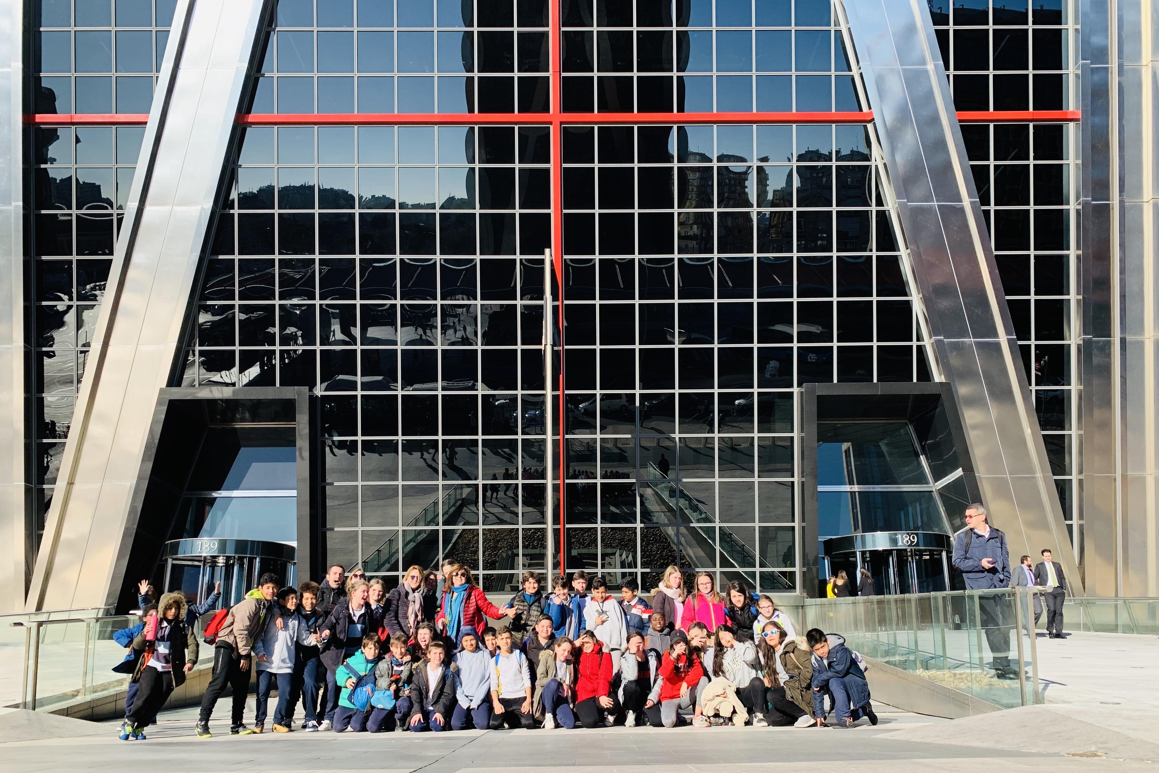 Excursión al Museo Nacional de Ciencias Naturales 1
