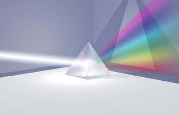 Prisma multicolor