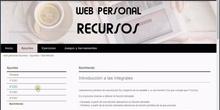 Insertar y configurar un mapa web