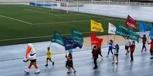 Inauguración olimpiadas escolares 2021