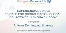 Digale ESO (Digitalización global del área de lengua en eso)