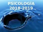 Psicología Bachillerato - Tema 0