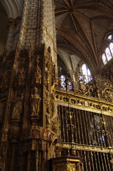 Reja en la Catedral de Toledo, Castilla-La Mancha
