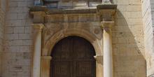 Puerta lateral de Iglesia en Colmenar de Oreja