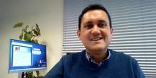Presentación de Javier Rodríguez Pascua, tutor del curso Crea tu portfolio, blog o web en EducaMadrid.
