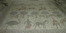 Mosaico del diácono-baptisterio de la basílica del Monte Nebo, J