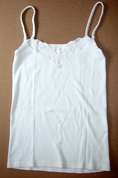 Camiseta interior chica