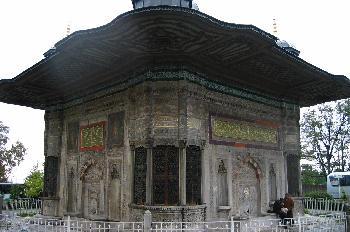 Fuente de Ahmet III, Estambul, Turquía