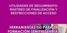 Herramientas de seguimiento: Rastreo de finalización y restricciones de acceso