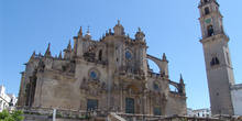Fachada de la Catedral de Jerez de la Frontera, Cádiz, Andalucía