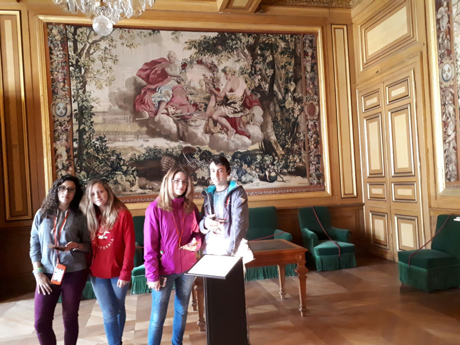 Intercambio Collège les Remparts. Abril 2017 35