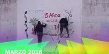 DECORACIÓN CON GRAFITIS
