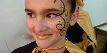 Instantes previos a la actuación de carnaval 2