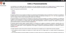 CSS Posicionamiento