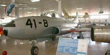 "Lockheed T33 ""Shooting Star"", Museo del Aire de Madrid"
