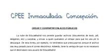 Tutorial - Nube: crear enlaces públicos