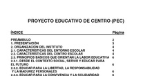Proyecto educativo 2015