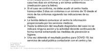 PROTOCOLO ALUMNADO SÍNTOMAS COMPATIBLES COVID19