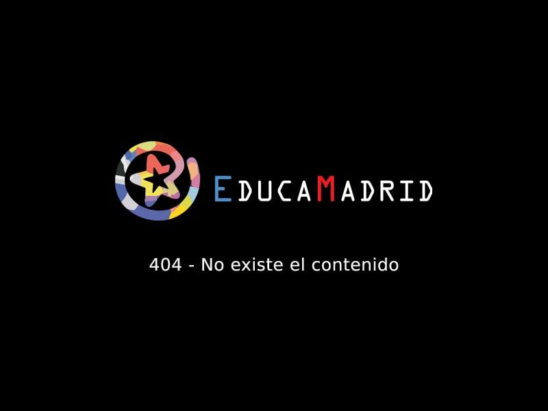 PowerPoint sobre EducaMadrid y Max-Almudena